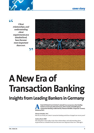 A New Era of Transaction Banking